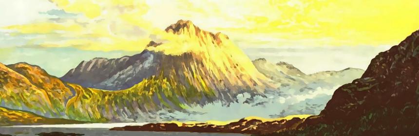 broad sunlit uplands
